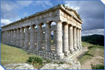 Doric Temple at Segesta, Italy